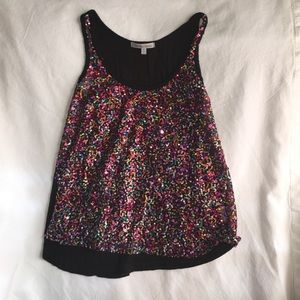 Charlotte Russe Sparkly Top