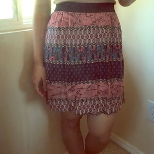 FLASH SALE Red/white/blue circle skirt!