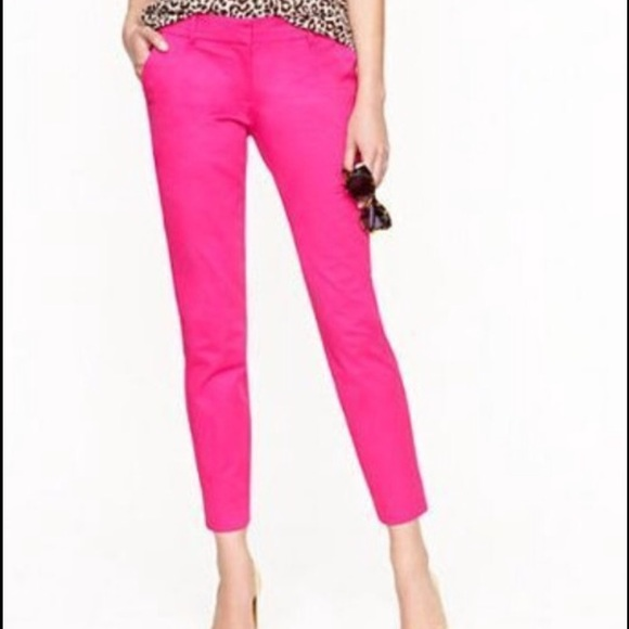 Opinion hot pink pants that