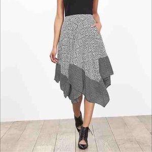 ✅ Banana Republic Petite Asymmetrical Skirt sz 2