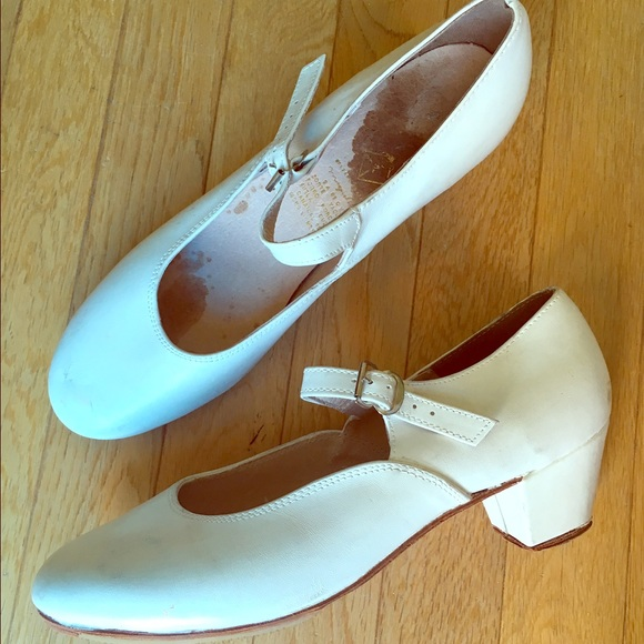 Sale White Miguelito Folklorico Shoes
