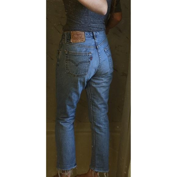 eb54804cecd Levi s Denim - Redone Vintage Levi s 501 Jeans Slim Fit ...