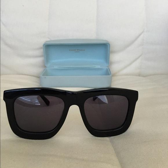 6de85bb97235 Karen Walker Accessories - Karen Walker Deep Worship Black Sunglasses