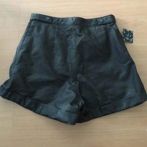 Nasty Gal Shorts - Leather Shorts By Nasty Gal