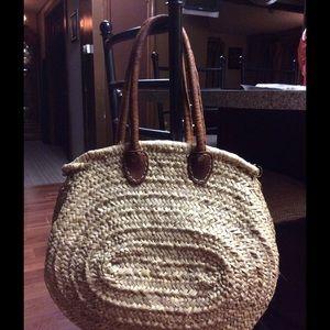 Handbags - Large straw bag