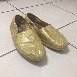 TOMS Shoes - Gold Toms