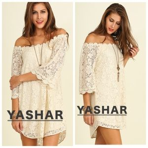 Sexy Off-Shoulder Lace Dress