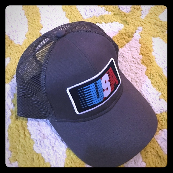 10e2531fbe5d9 USA Rowdy Gentleman mesh back hat. M 578d63dc9818299fdc00328d