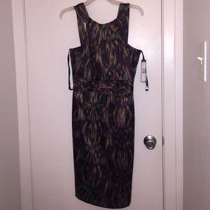 Tahari multicolored dress