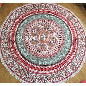 "Unbranded Other - Boho Mandala Throw 72"" Round Yoga Beach sarong"