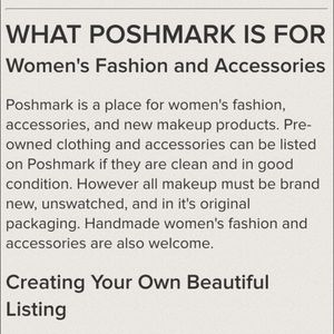Other - I only sell CLEAN items-My rant on Poshmark Closet