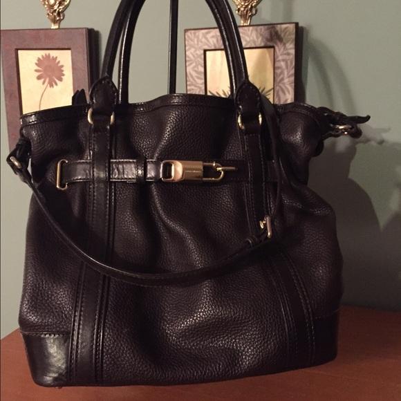 a9e007293f85 Burberry Handbags - Burberry Golderton Pebbled Leather Bridle Tote
