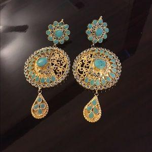 Gorgeous Bollywood style Earrings!