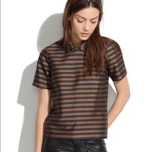 Madewell Curved Collar Top