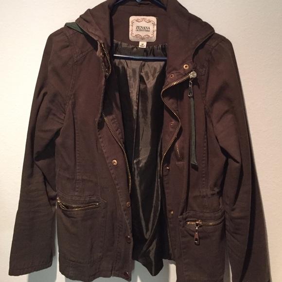 67% off Zenana Outfitters Jackets u0026 Blazers - Army green jacket from Lauru0026#39;s closet on Poshmark