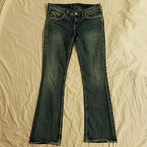 Silver Jeans - Silver Jean Co. Aiko Bootcut dark wash jeans from ...