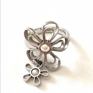Swatch Jewelry - Swatch flower ring. Rare.