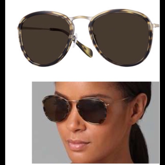 e8ddb9edd4 Oliver Peoples Accessories | J Gold Polarized Brown Sunglasses ...