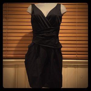 Cynthia Steffe black dress; size 6: NWT