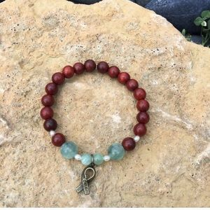 Boho Gypsy Sisters Jewelry - Lung Cancer Healing Bracelet