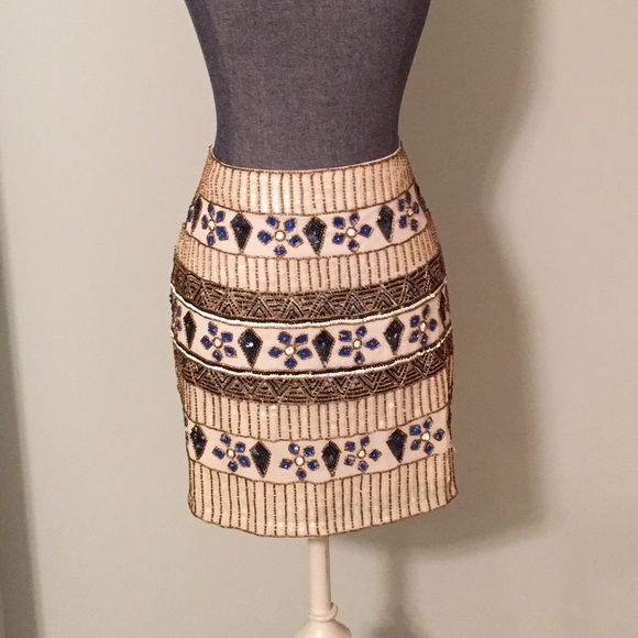 489215a077f Yumi Kim embellished skirt