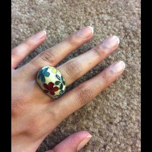 Jewelry - Colorful Enamel ring.