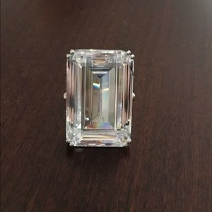 Jewelry - Bold Emerald cut CZ ring