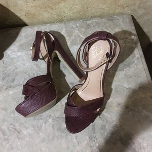 Colin Stuart heels burgundy💕SALE💕