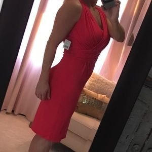 Tahari Coral Summer Dress