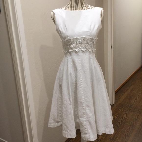 Vintage - Authentic VINTAGE white dress from Melaina&-39-s closet on ...