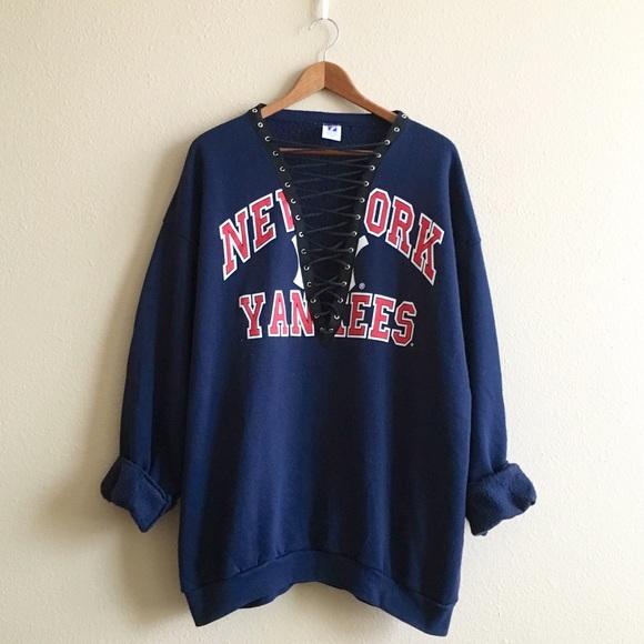 LF Tops - Vintage Yankees Sweatshirt e2a74ba10b0