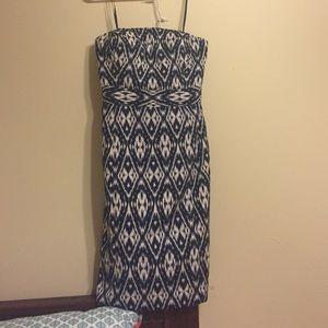 Strapless BR dress
