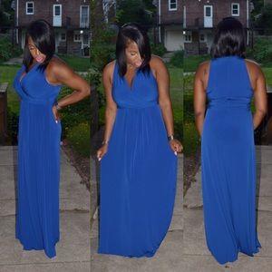 Calvin Klein Dresses & Skirts - Regal Blue Calvin Klein Maxi Dress