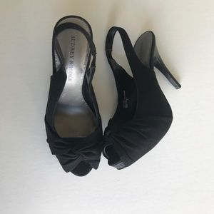 Audrey Brooke Peep Toe Pumps