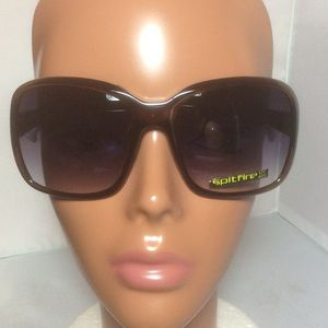 Spitfire Accessories - New Spitfire Brown Square The Dutchess Sunglasses