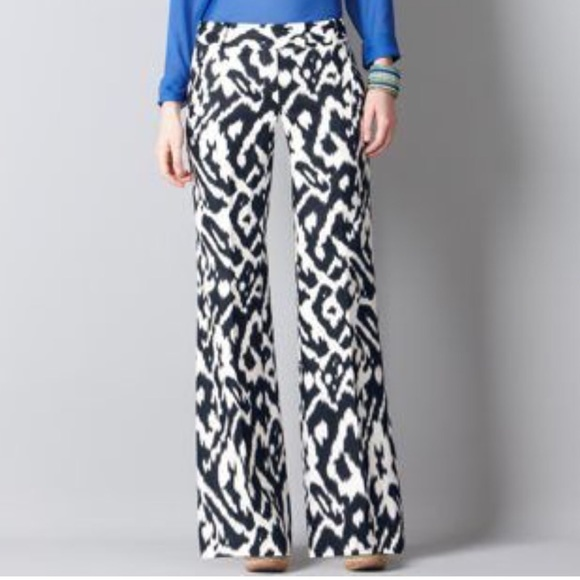 4c1fd5105e0 LOFT Pants - Ann Taylor LOFT Ikat Printed Pants