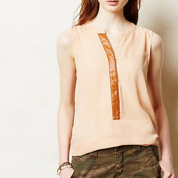 7448f5f3222424 Anthropologie Tops - Anthropologie Sunday in Brooklyn Anhinga Tank