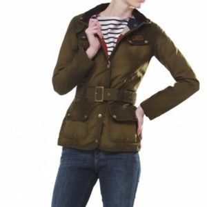 Barbour Jackets & Blazers - Barbour International Waxed Olive Jacket