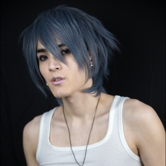 Hot Topic Accessories - 🌙Silver Blue Grey Wig Cosplay Anime Unique Gothic