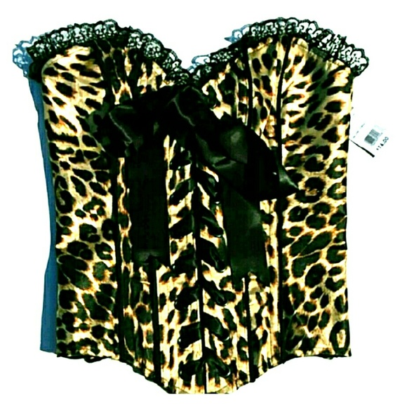 ef2d6fa7ad NWT Leopard Corset bustier from Lovers Lane