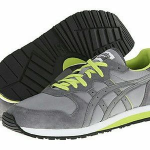 Onitsuka Tiger by Asics Other - NEW Onitsuka Grey & Green Running Shoes by ASICS