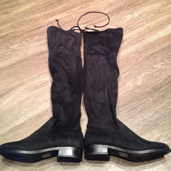 e510b1458fa Steve Madden Orlene black over the knee boots 7