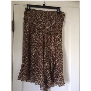 Zara Skirt Size 6 Print New