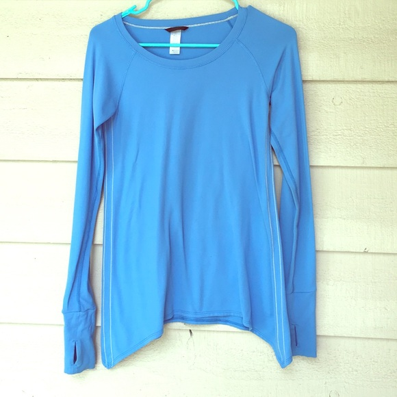 1d5be0143 Ivivva Tops | Long Sleeve Shirt Blue Too Small For Me | Poshmark