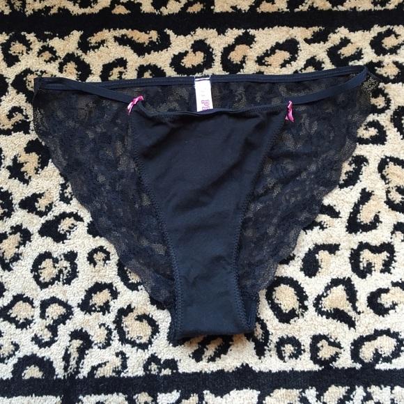 8497cef1e0095 Victoria's Secret Lace Back String Bikini Panty