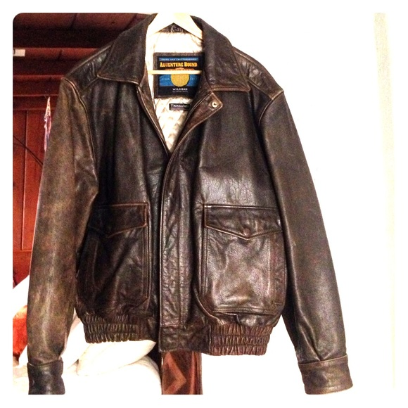 Wilsons Leather - 🎈SALE🎈Vintage Bomber Jacket from Jolie's ...