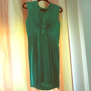 Emerald green See by Chloé cocktail dress