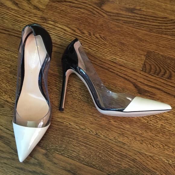 6fa59ddb5e Gianvito Rossi Shoes - Gianvito Rossi Plexi Patent Pump