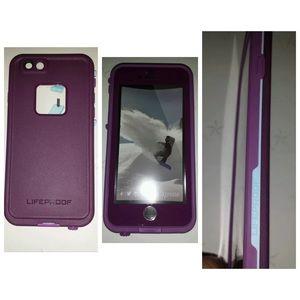 size 40 b278d 71382 Purple lifeproof case iphone 6 Boutique