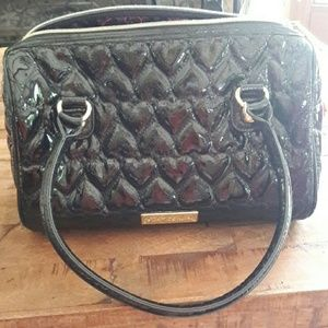 Betsey johnson black purse